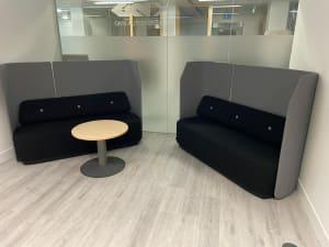 Kinnarps Booth sofa