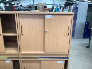 Low cabinet sliding doors
