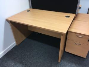 Wooden desk 120cm