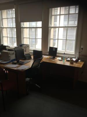 Extended desk