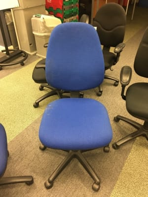 Office chair on wheels