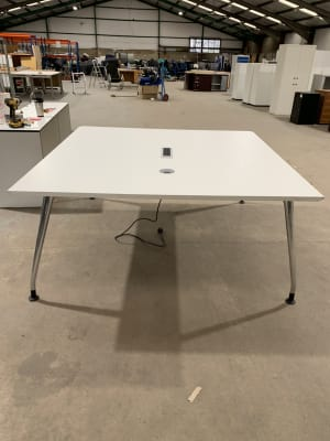 Large square meeting table