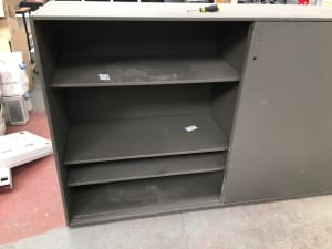 Metal Cabinet with Shelves
