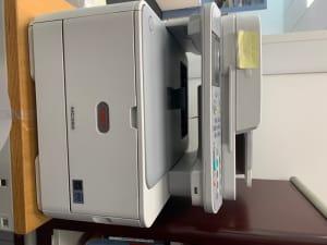 Printer Scanner Fax - OKI MC362