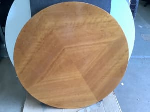Round Wooden Coffee Table.
