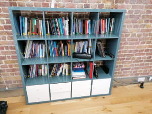 Ikea bookcase and storage unit