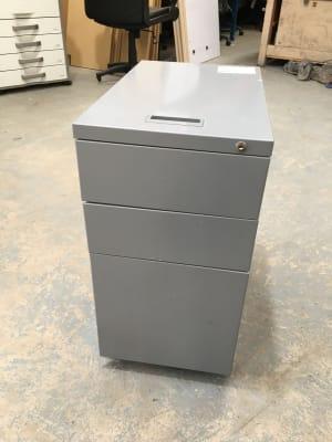 Small Compact Slimline Metal Pedestal