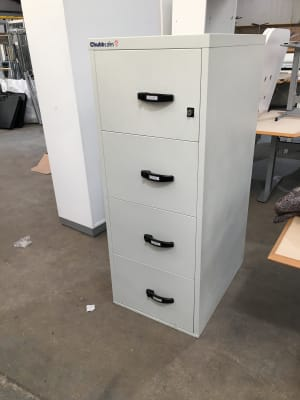 Fireproof safe Filing cabinet No key supplied