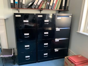 Filing cabinet- 4 drawer