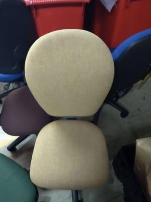 pale grey chair