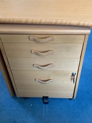 Pedestal - 4 drawer