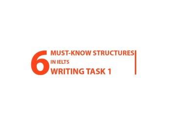 ĐÁNH BẠI IELTS WRITING TASK 1 VỚI 6 CẤU TRÚC KINH ĐIỂN