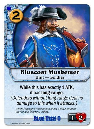 Bluecoat Musketeer