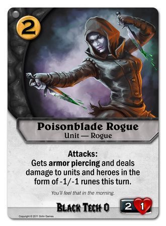 Poisonblade Rogue
