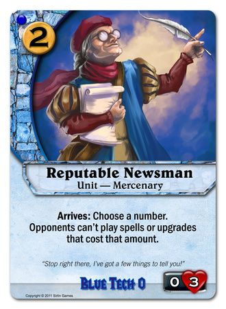Reputable Newsman