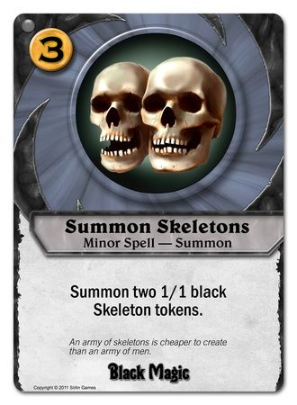 Summon Skeletons