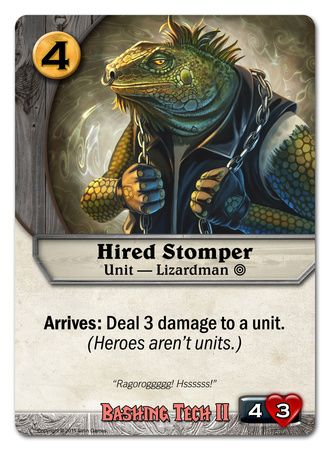 Hired Stomper