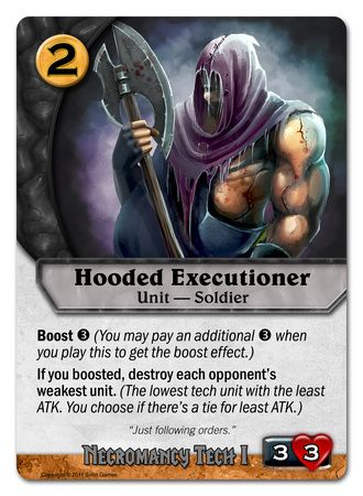 Hooded Executioner