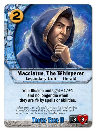 Macciatus, The Whisperer
