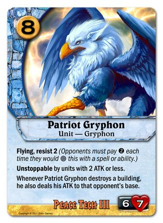 Patriot Gryphon