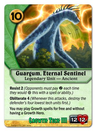 Guargum, Eternal Sentinel
