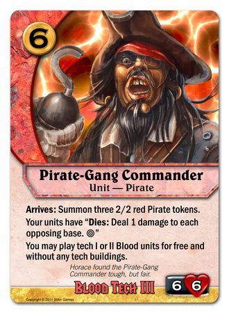 Pirate-Gang Commander