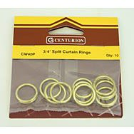 19mm EB Split Curtain Rings (Pack of 10)
