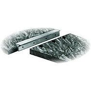 40mm Matt Silver Corner Worktop Jointing Section