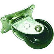 41mm Plate Fix Single Wheel Castors  (Pack of 4)