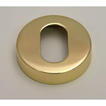 50mm PB Concealed Oval Escutcheon