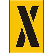50mm Stencil - Character 'x'