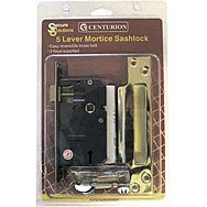 "63mm (2 1/2"") PB 5 Lever Mortice Sashlock"