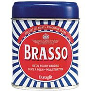 75g Brasso Wadding Metal Polish