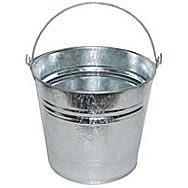 10L Galvanised Bucket 28cm