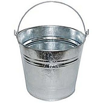 10L Galvanised Bucket 28cm