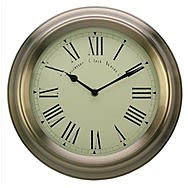 Acctim Redbourn Wall Clock - Antique Gold