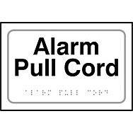 Alarm pull cord - Taktyle (225 x 150mm)