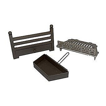 """Atlanta Solid Fuel Kit - 16"""" Fire Grate, Front and ashpan"""