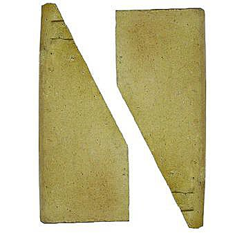 Baxi Fireclay Side Tiles (Pair)