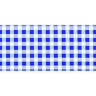 Blue Gingham - 450mm x 1.5m