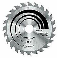 Bosch 210x2.8x30mm 48T Optiline Saw Blade 2608640623