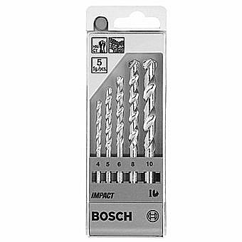 Bosch Impact Masonry Drill Bit Set of 5 - 1609200228