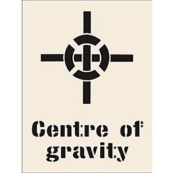 Centre Of Gravity Stencil (190 x 300mm)