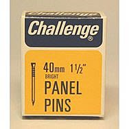 Challenge 20mm Bright Panel Pins 50g Box