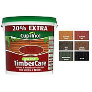 Cuprinol One Coat Timbercare 6L - Autumn Red