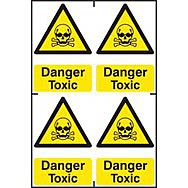 Danger Toxic - PVC (200 x 300mm)