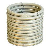 Deville 364Z Classic Cream/Gold 30-32mm Curtain Rings (10)