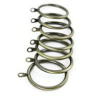 Deville 556Z Classic  Antique Brass 30-32mm Curtain Rings (10)