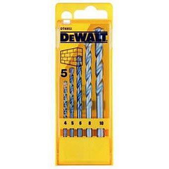 DeWalt 5 Piece Masonry Drill Bit Set DT6952QZ
