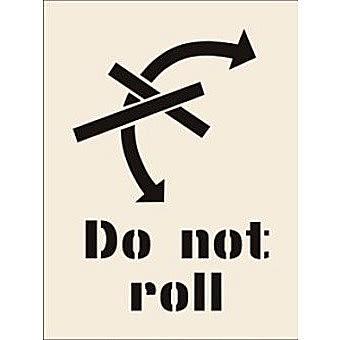 Do Not Roll Stencil (190 x 300mm)